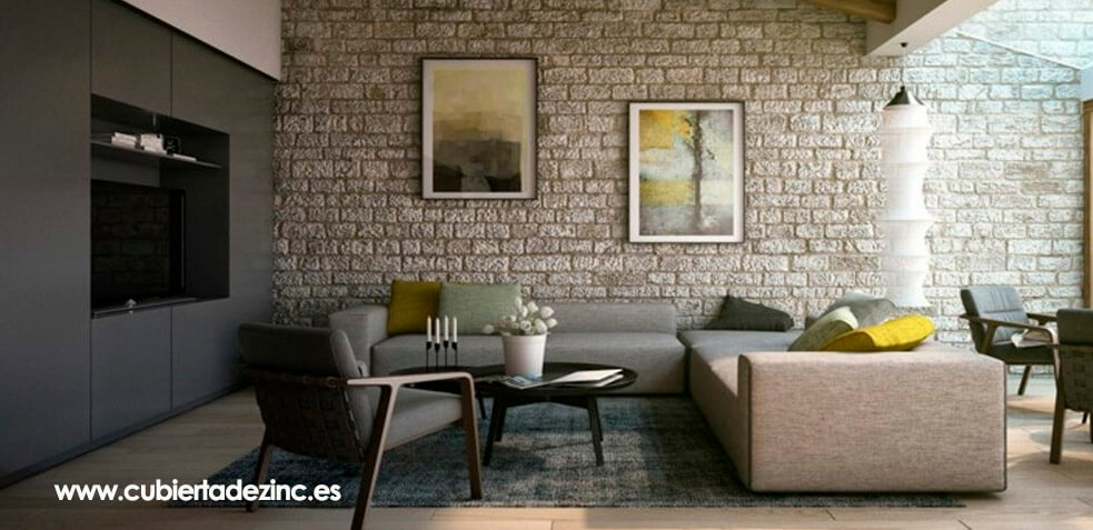 Revestimiento de interiores ideas para decorar tu hogar i - Decorar interiores de casas ...